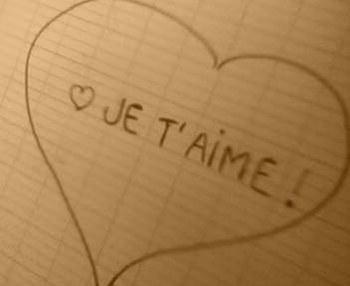 Ce qu'il y a de mieux en moi c'est l'amour que j'ai pour toi...
