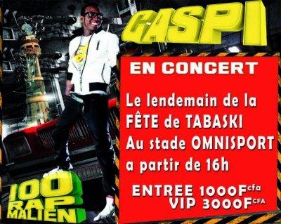 Grand Concert de Gaspi Au Stade Omnisport