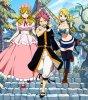 "Fairy Tail opening 11-""Hajimari no Sora"" by +plus"