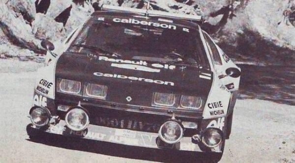 #Alpine A310 groupe 5 Frequelin /Delaval Rallye Jean Behra 1977