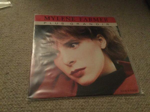Maxi 45 tours plus grandir 1985