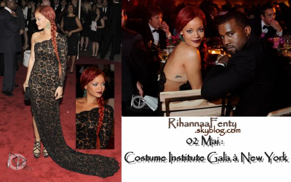 >> Red Carpet !  02 Mai ~ Costume Institute Gala