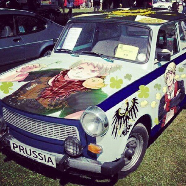 Prussia car