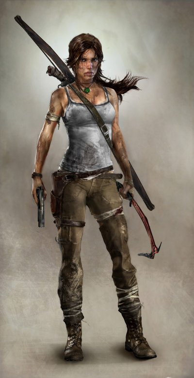 Lara Croft is back...