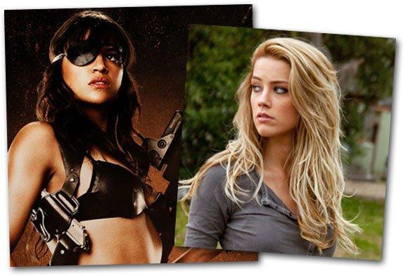 Amber Heard rejoint Michelle Rodriguez au casting de «Machete Kills»