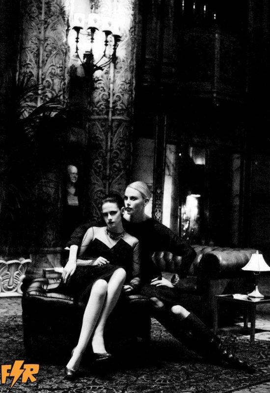 Charlize Theron & Kstew