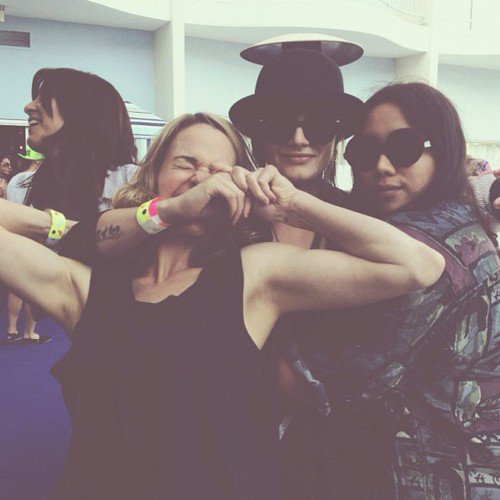Leisha Hailey, Camilla Grey & Tasya Van Ree
