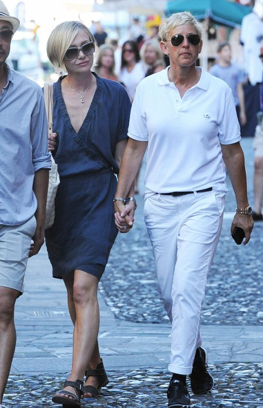 Ellen DeGeneres & Portia de Rossi