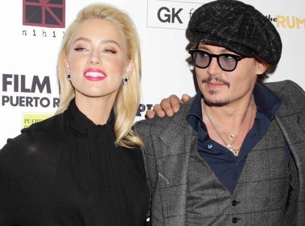 Johnny Depp repoussé par Amber Heard