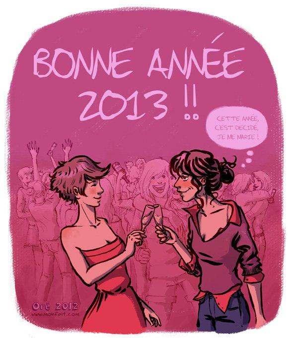 Très Bonne Année 2o13 !