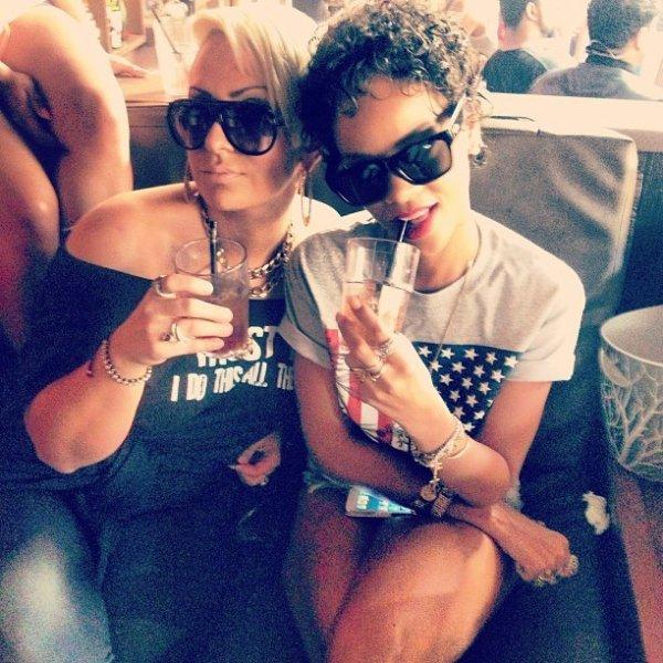 Debbie Coda & Rihanna