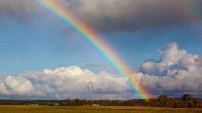 Siehst du den Regenbogen? ♥