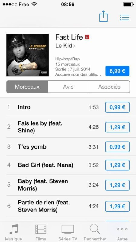 #FASTLIFE disponible dès maintenant