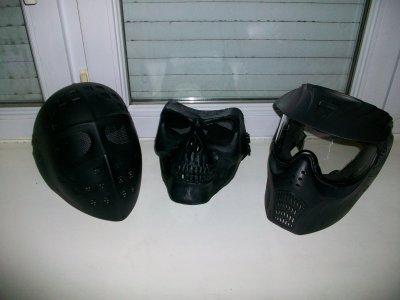 voici mes 3 masques
