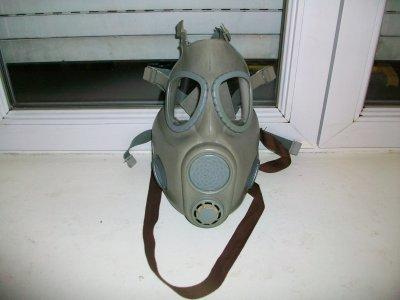 voila mon masque a gaz