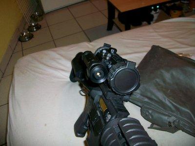 voici mon laser avec commande deportée