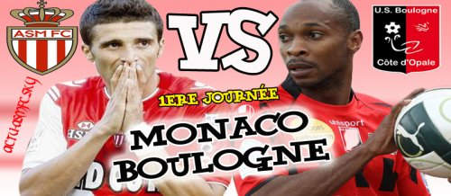 Monaco / Boulogne  ( Terminé ! Score final : Monaco 0 - 0 Boulogne )