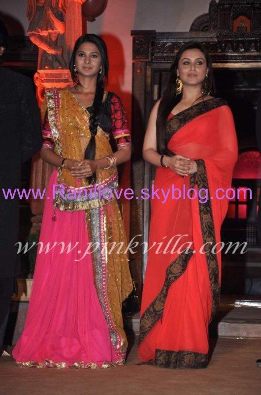 Rani Mukerji lance Saraswatichandra Sanjay Leela Bhansali