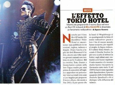 """""""L'effet Tokio Hotel"""""""