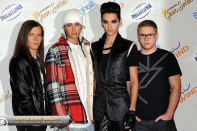 Tokio Hotel ne sera pas nominé aux Comet 2011.