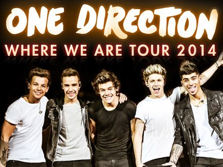 Allez-vous au Where We Are Tour ?