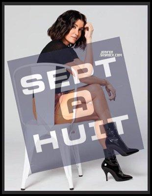 07/10/2018 : Jenifer a donné une interwiew au magazine « Sept à Huit  » elle était trop belle, gros top.