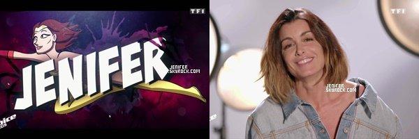12/10/2018 : Jenifer de retour comme jury pour « The Voice Kids » elle est superbe, j'adore sa tenue, gros top.