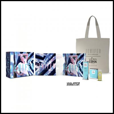 2018 : Jenifer devient ambassadrice de la marque « VéraCova » avec son coffret Beauty Box. Super!