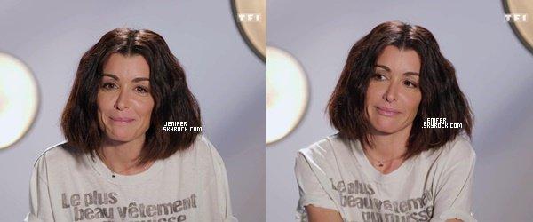 30/11/2018 : Jenifer toute jolie à la demi-finale de l'émission de  « The Voice Kids5 » J'adore sa tenue, gros Top.