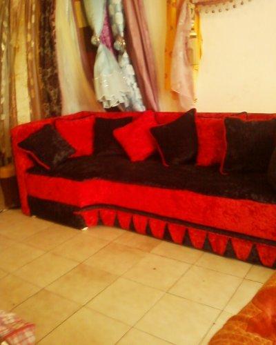 banquitte rouge et noir - zouhair10