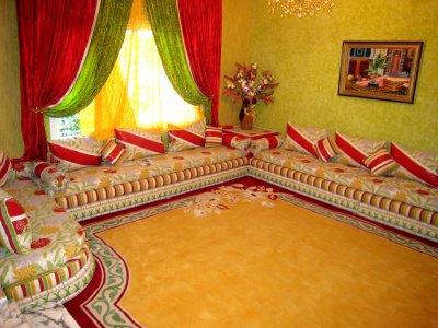 les dirnie modele du salon marocain top zouhair10. Black Bedroom Furniture Sets. Home Design Ideas