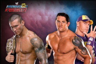 "Carte de ""WWE Bragging Right"" 2010."