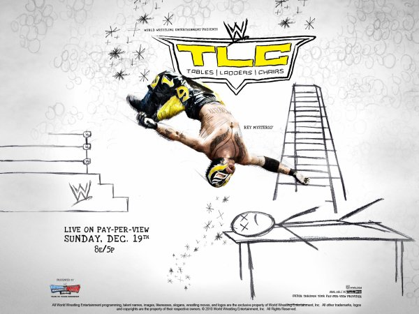 "Carte De ""WWE TLC"" 2010"