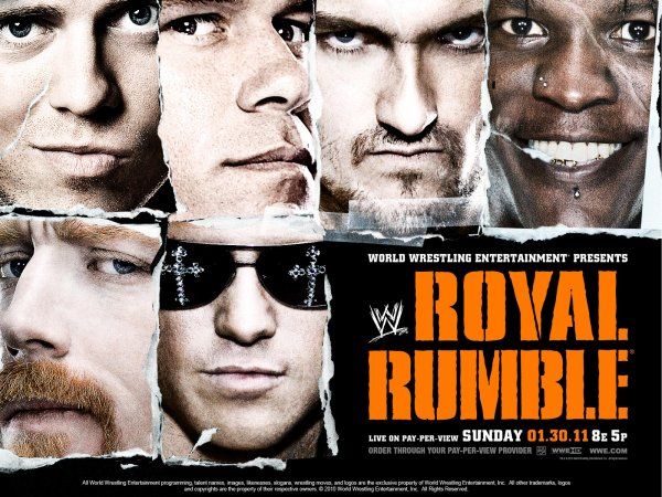 "Carte de ""WWE Royale Rumble"" 2011"