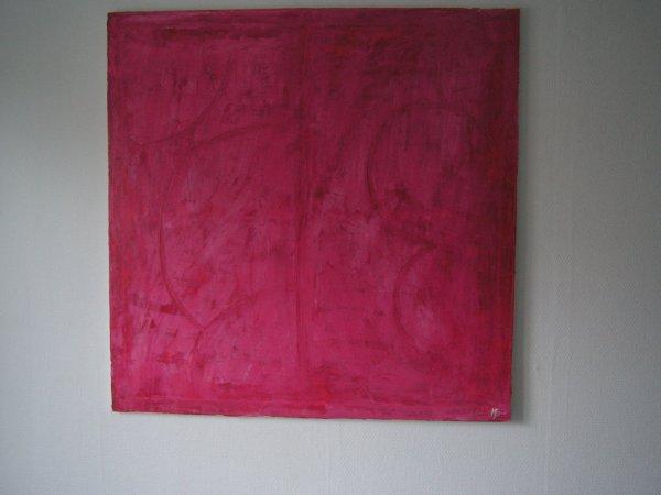 acrylique lissé sur toile