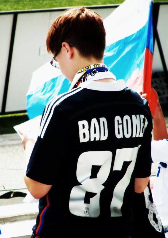 Joue pour ce qui est écrit sur le devant du maillot et ils se rappelleront tous de ce qui est écrit derrière.. , Bad Gones  ♥