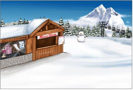 C'est l'hiver !! La montagne est faite pour vous les Bimbos  :)