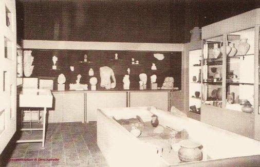 Le musée d'Argentomagus avant 1990...   Museum of Argentomagus before 1990...