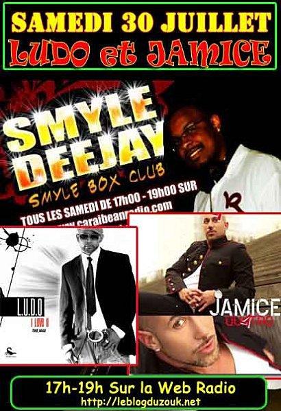 LUDO ET JAMICE Dans le smyle box club 30/07 à 17h