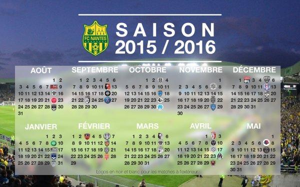 [ » ] Calendrier du FC Nantes !!!