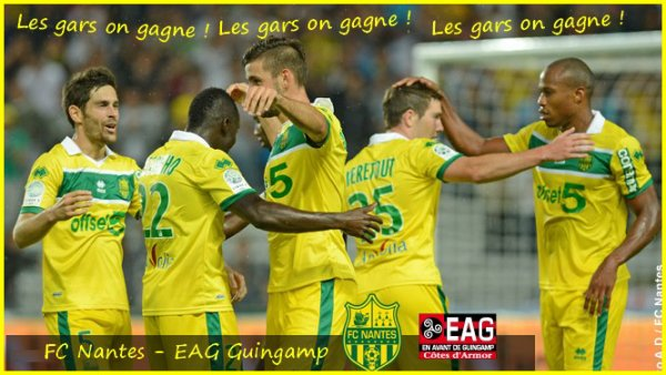 [ » ]  FC NANTES - EAG GUINGAMP - 7 EME JOURNEE DE LIGUE 2
