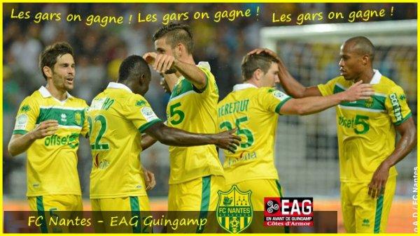 [ » ]  FC NANTES - EAG GUINGAMP - 7 EME JOURNEE DE LIGUE 2