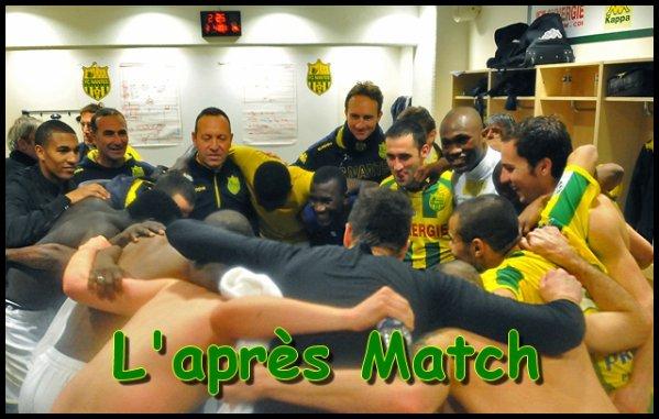 [ » ] L'après Match FC NANTES - EAG GUINGAMP - SAISON 2012/ 2013 !!!