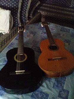 mes guitars
