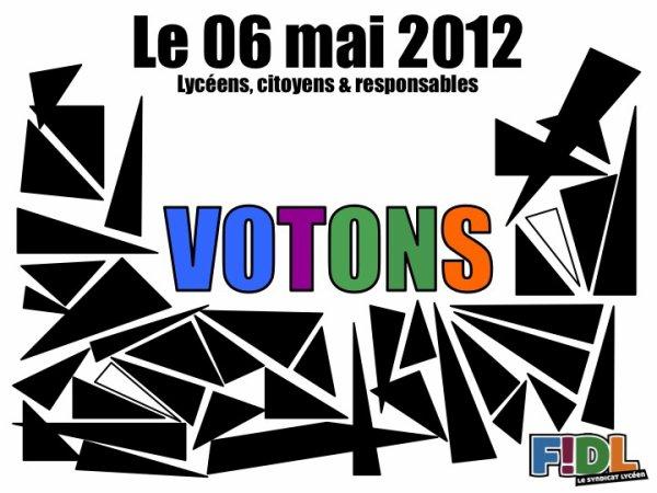 2nd tours des éléctions présidentielles.