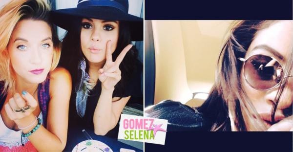 Charity, amie et danseuse de Selena a récemment posté une photo de Selena et elle-même. Le selfie a été posté par Miss Gomez sur son Instagram, le 4 juillet.
