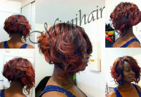 carre plongeant - Fashion hair & Fashion make up