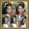 coiffure mariage black