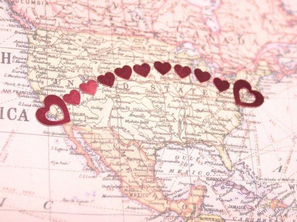 Love a distance...