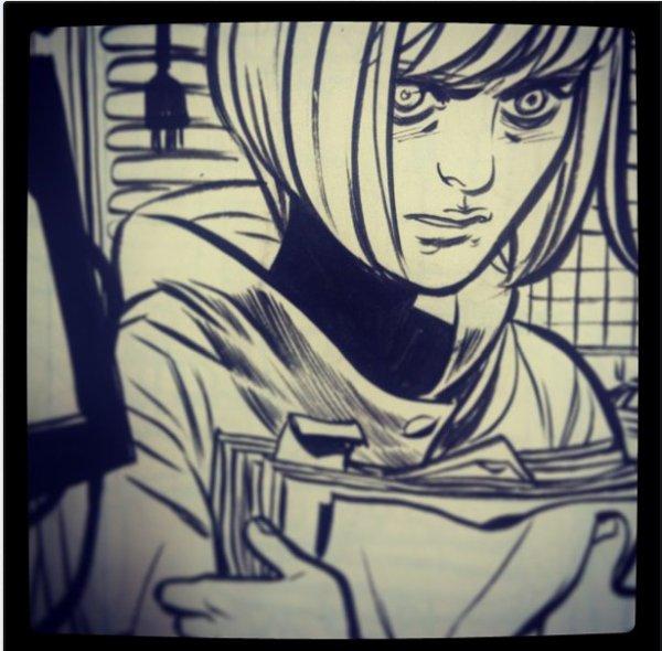 KILLJOYS : nouveau dessin de Becky Cloonan (instagram) + preview en entier.